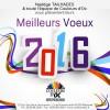 Meilleurs Voeux 2016 !